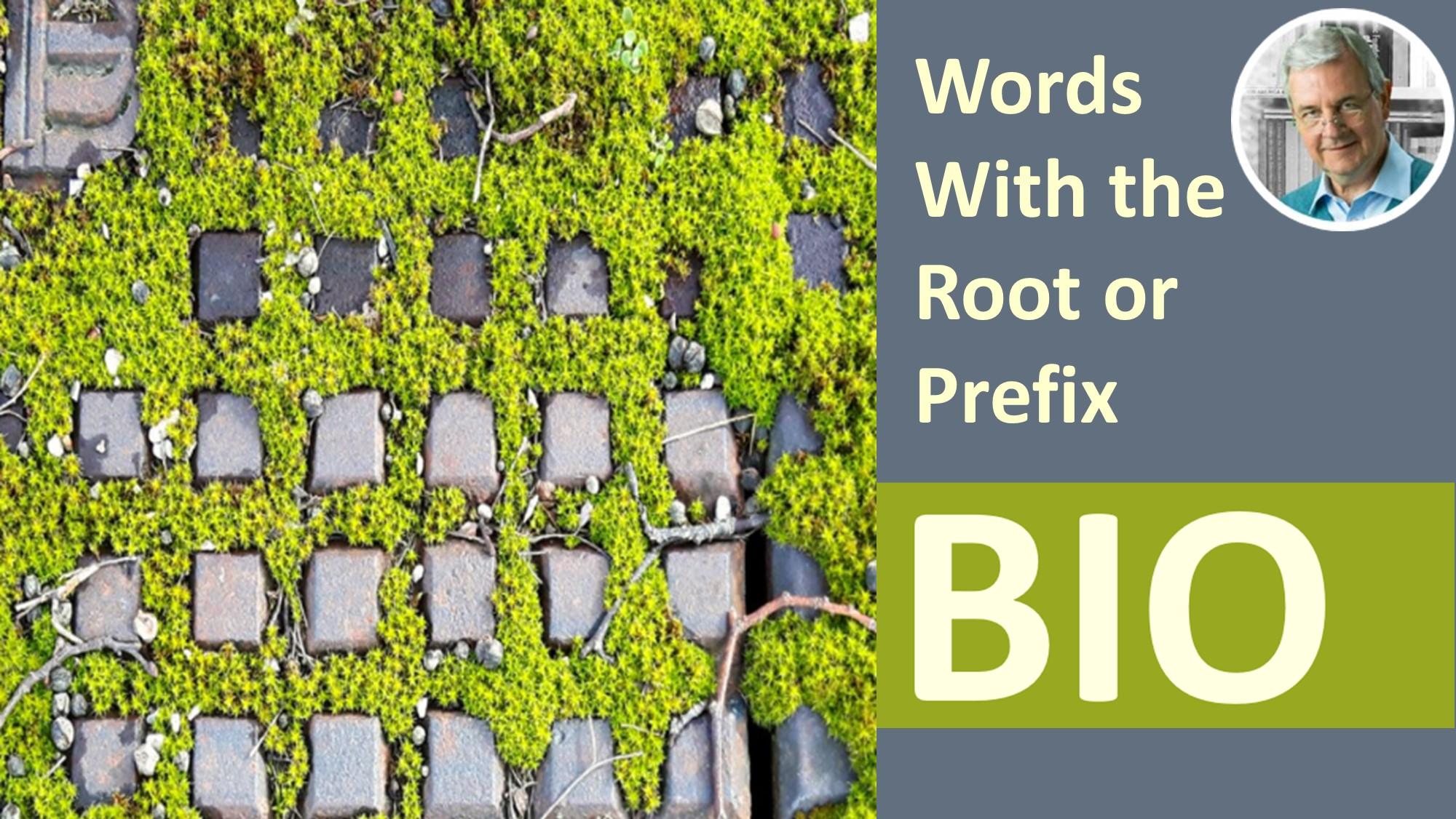 prefix or root bio