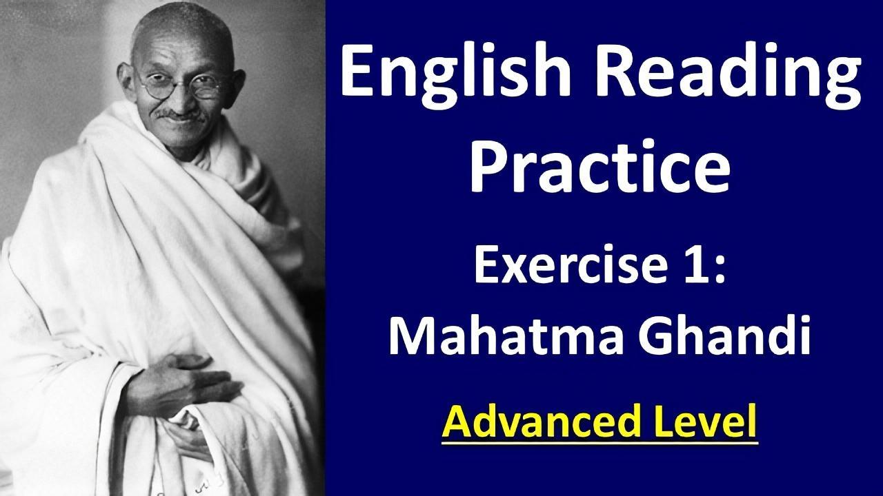 English reading practice exercise 1 Advanced