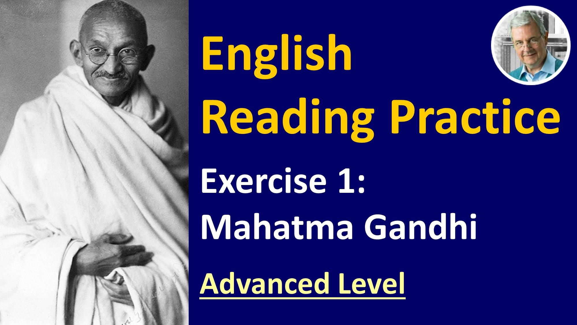 english reading exercise #1