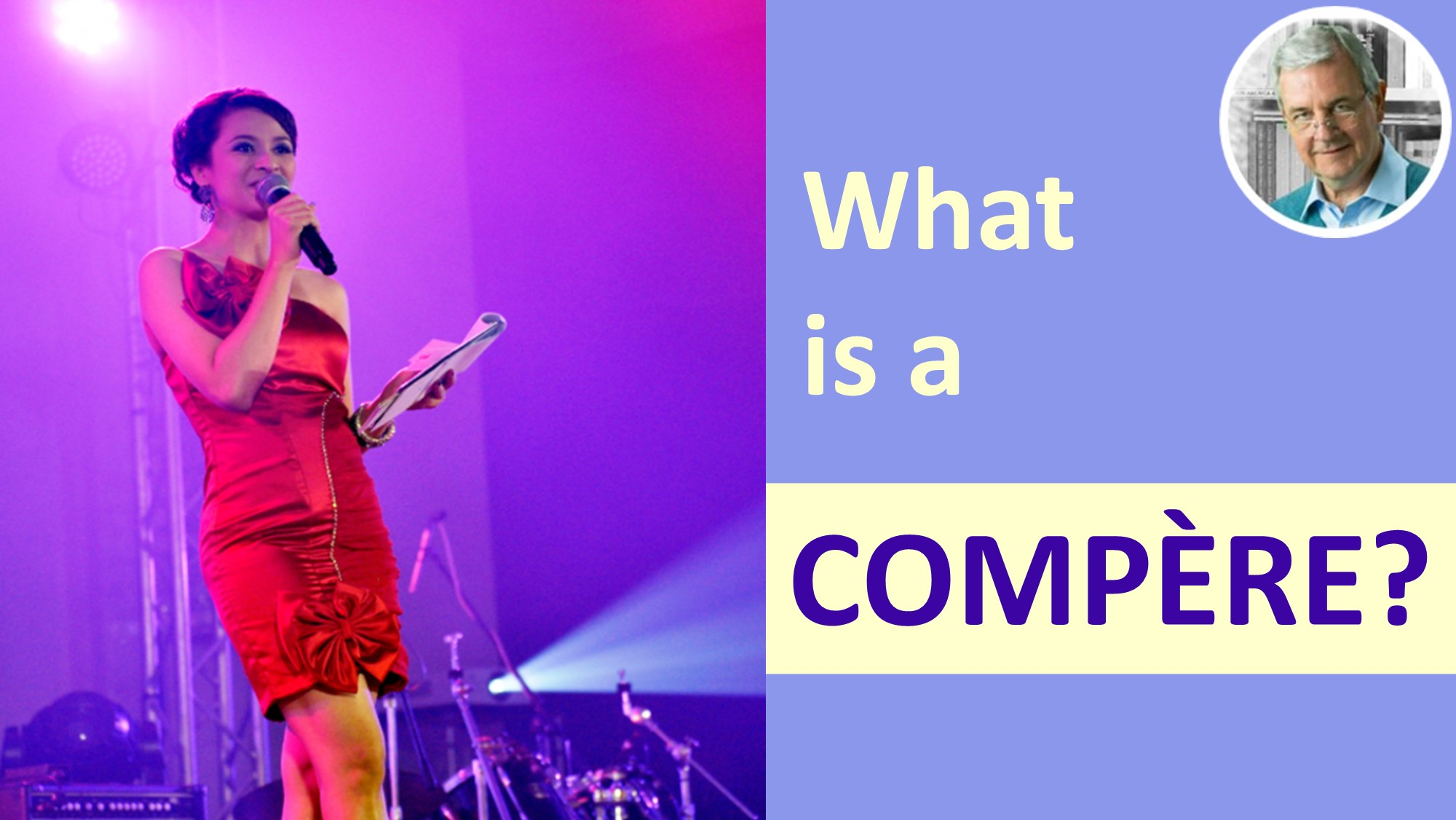 meaning of compere