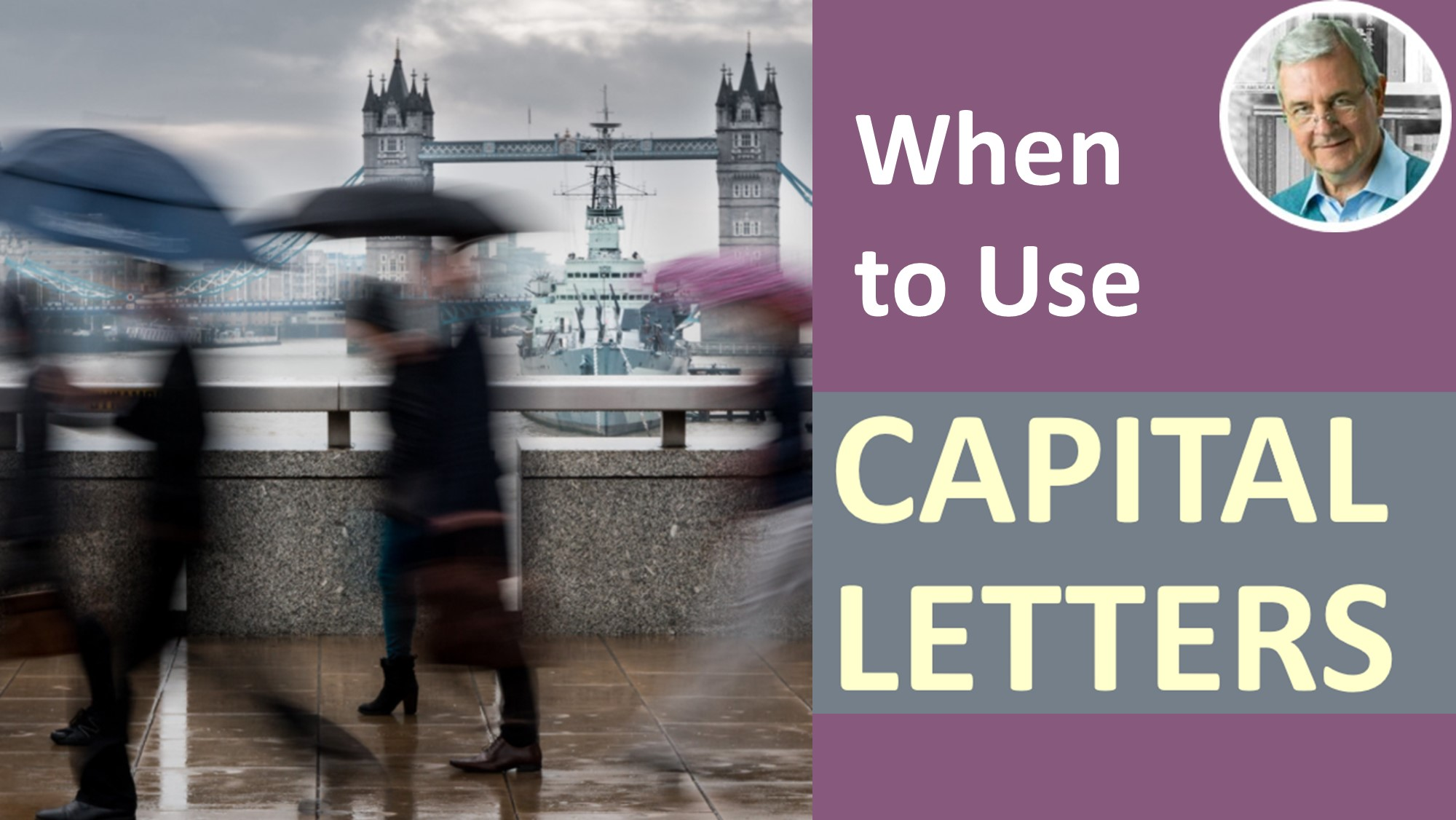 when do you use capital letters