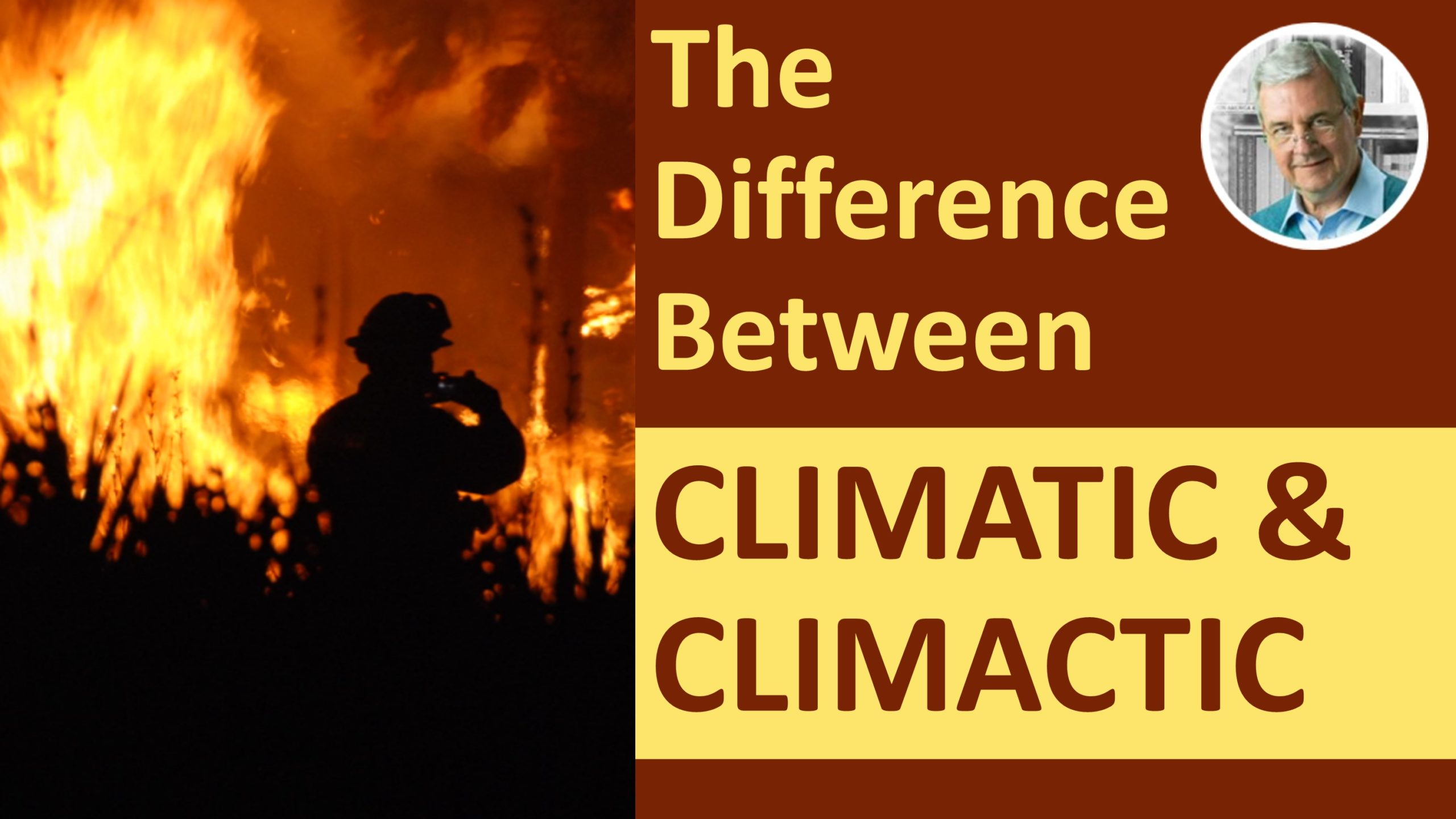 difference between climatic and climactic