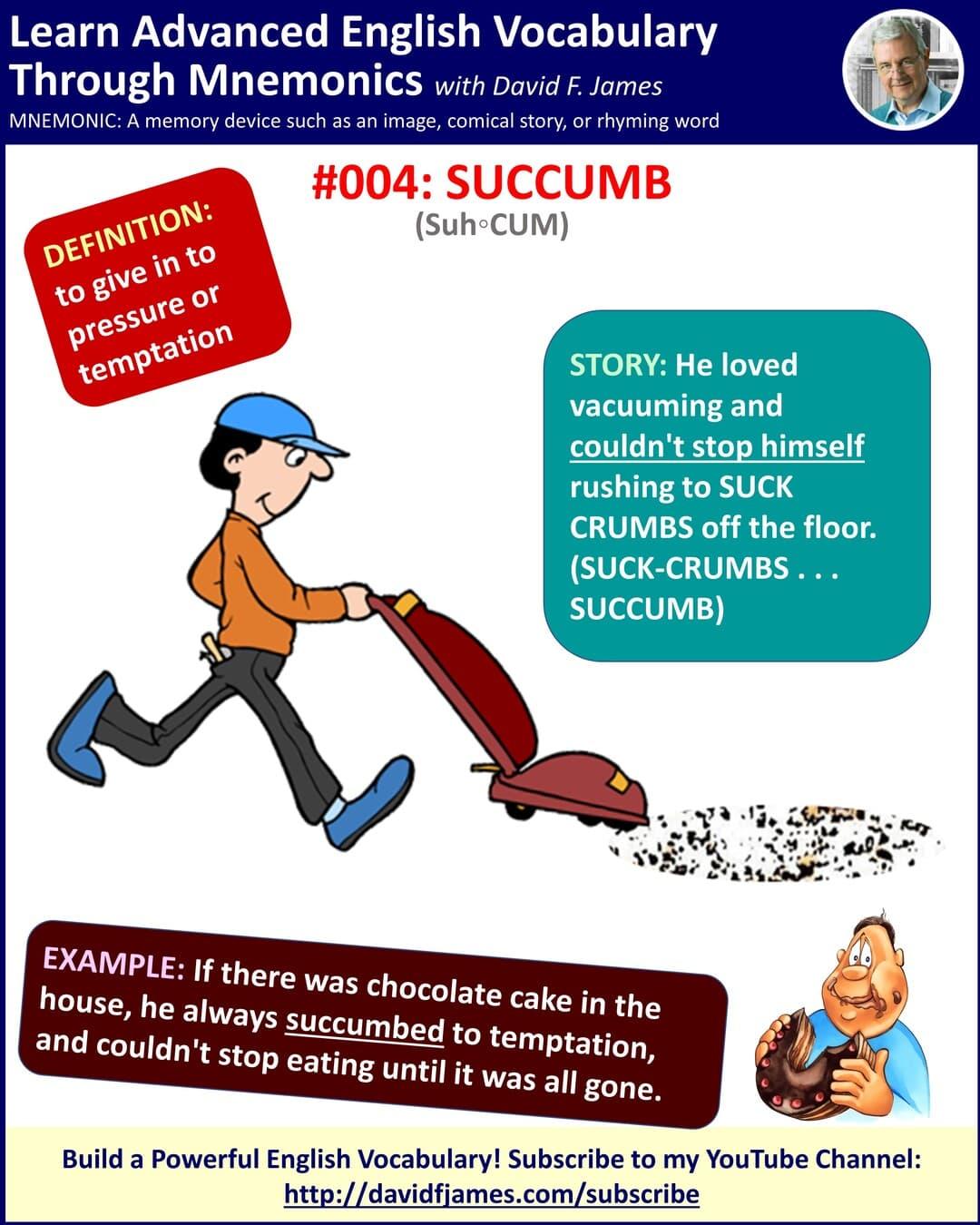 definition of succumb - succumb in a sentence