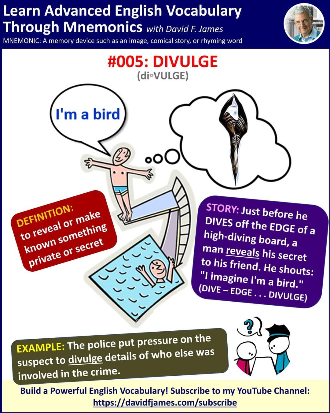 definition of divulge - divulge in a sentence