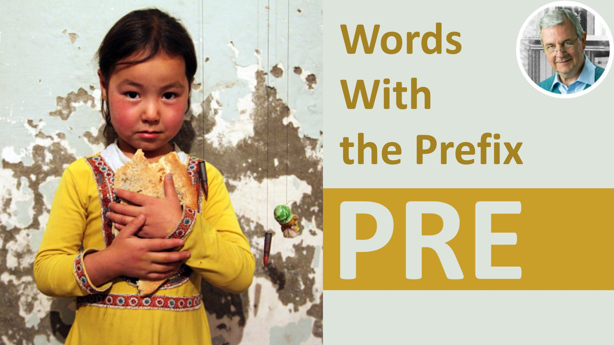 meaning of prefix pre