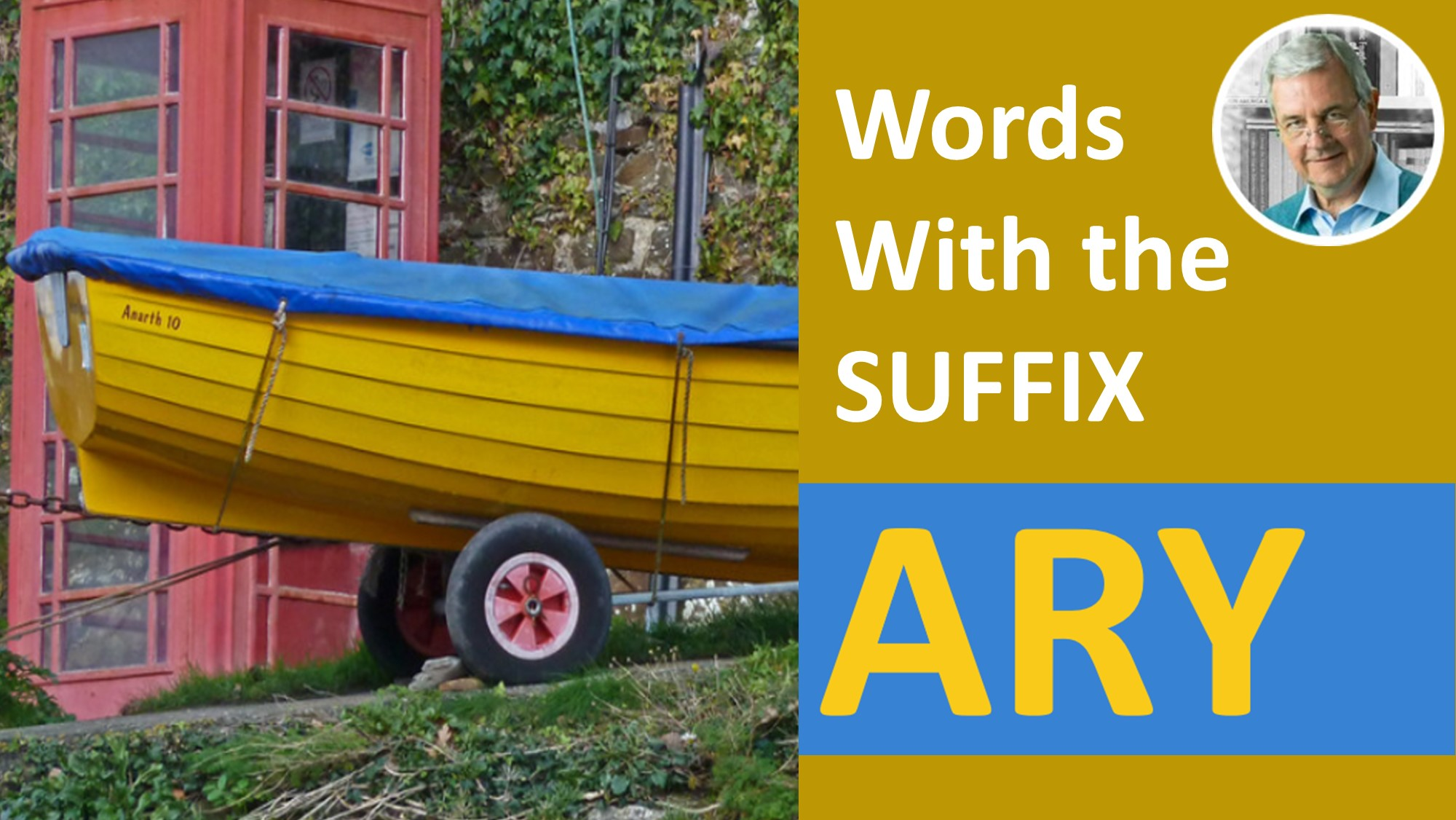 meaning of suffix ary