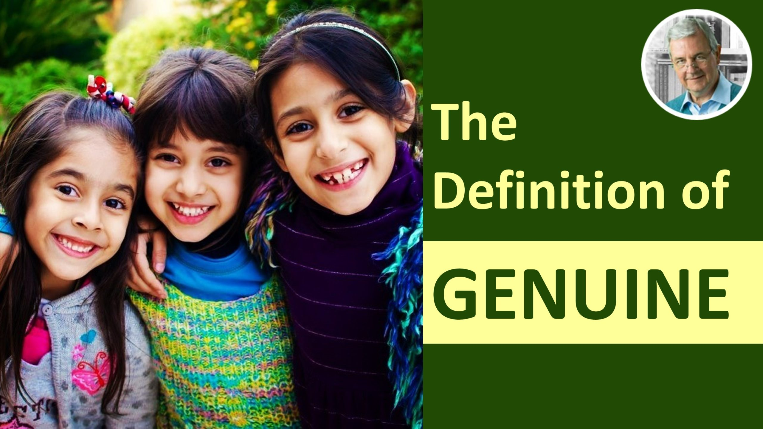 meaning of genuine