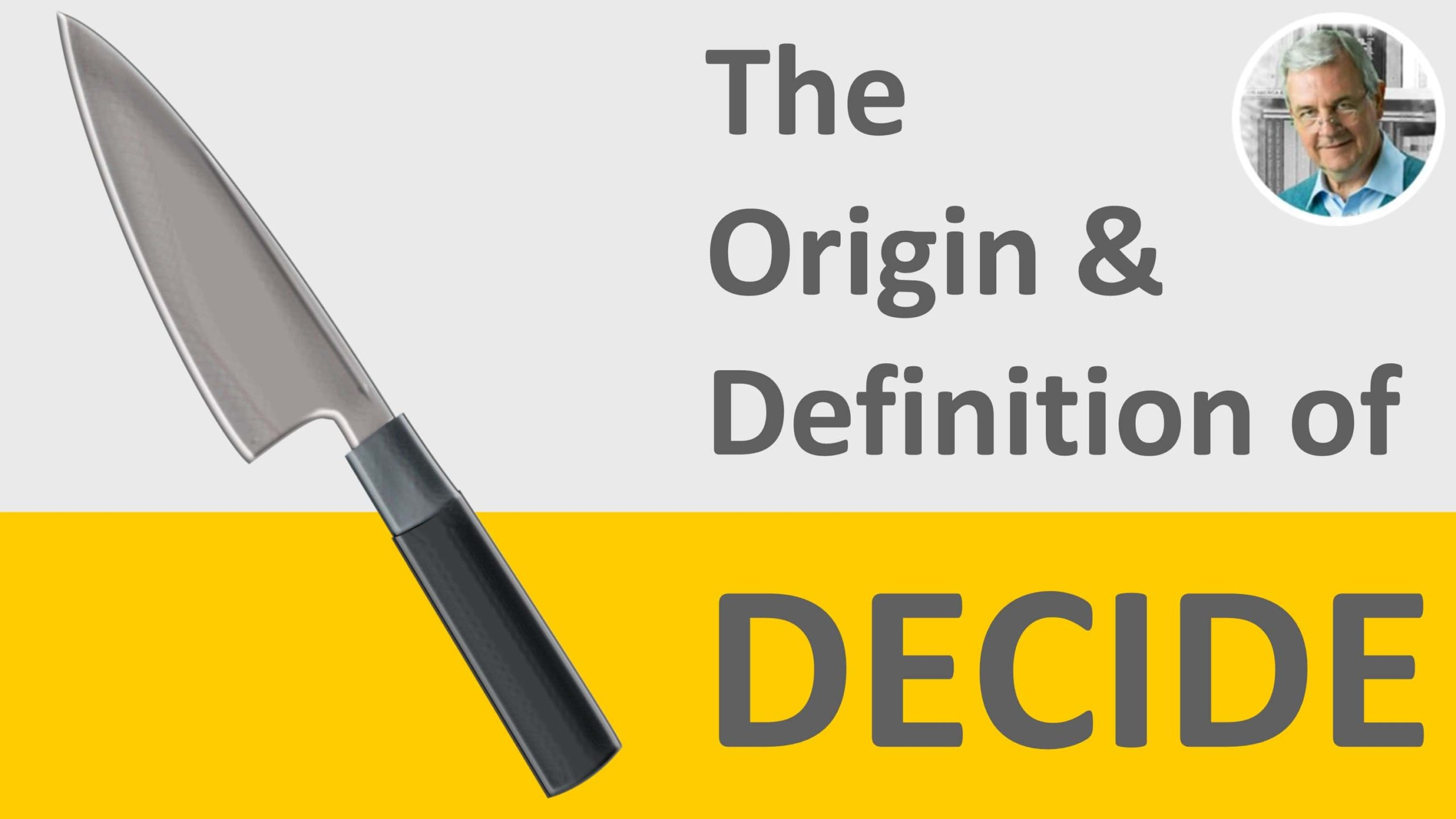 meaning of decide - decide in a sentence